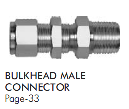 Bulkhead Male Connector
