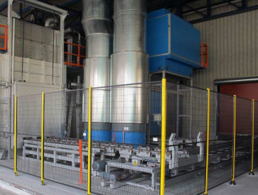 Aluminum T6 Heat Treatment Line