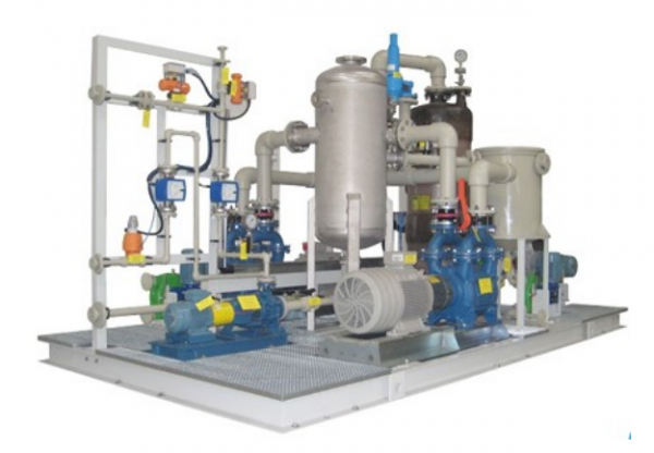Solid Water Treatment Package