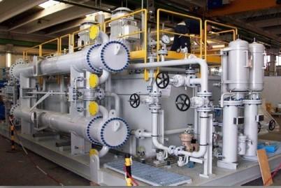Water/Oil Tube Bundle Exchangers