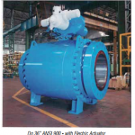 "Dn 36"" ANSI 900 – with Electric Actuator"
