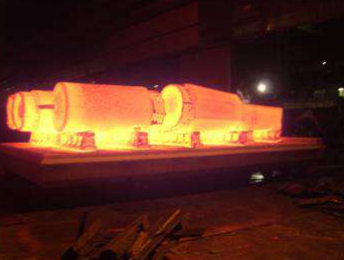 Bogie Hearth Furnace for forging with heat exchanger