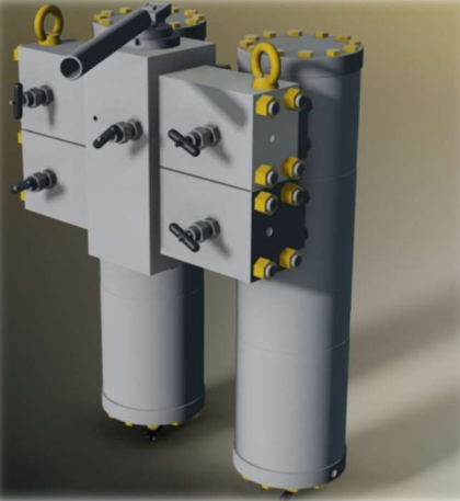 Modular System for Gas Filtration