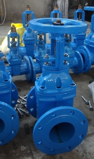 Flanged Resilient NRS Gate Valve, F4